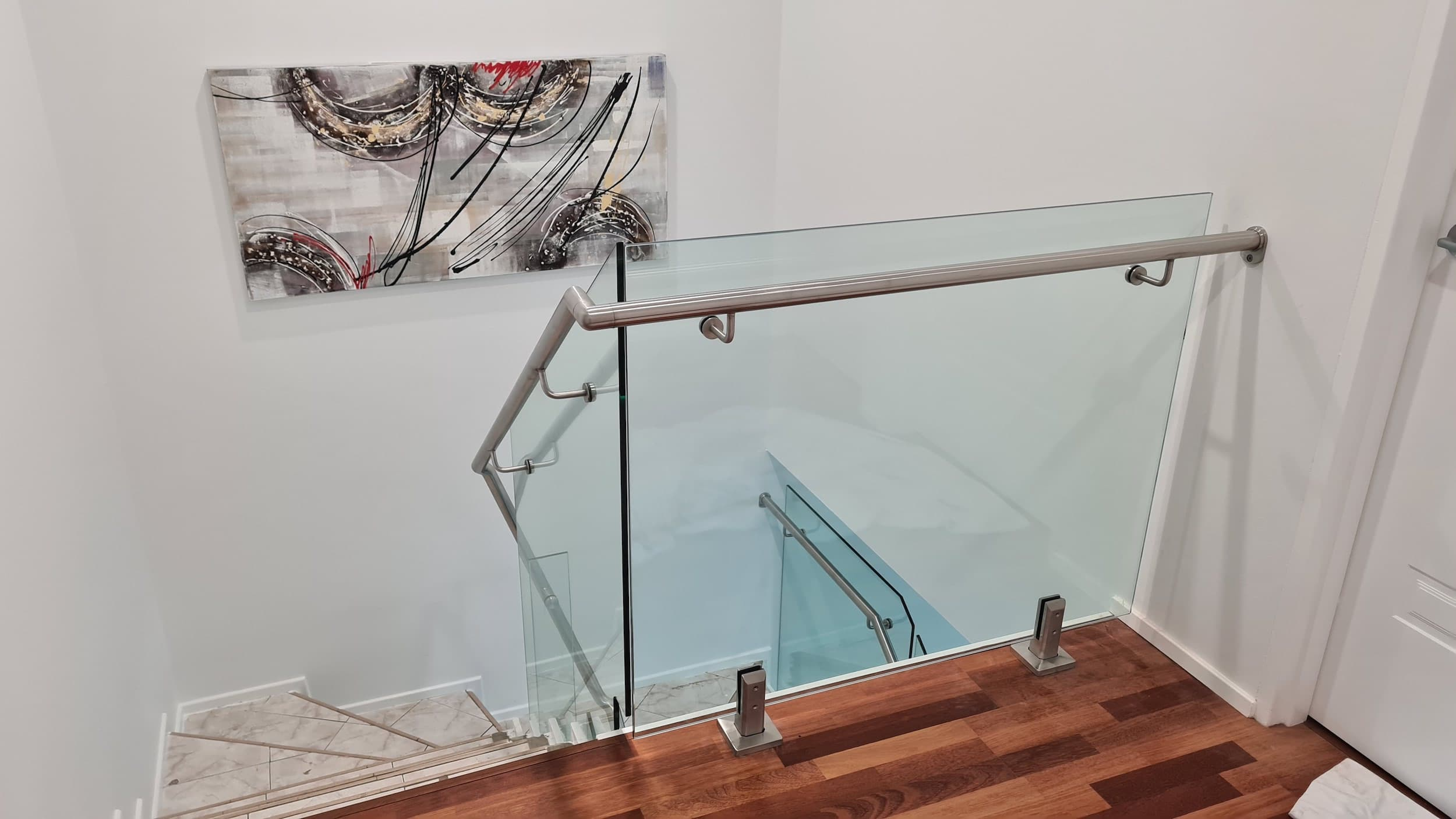 Glass Stair Balustrades - Glass Fencing Sydney