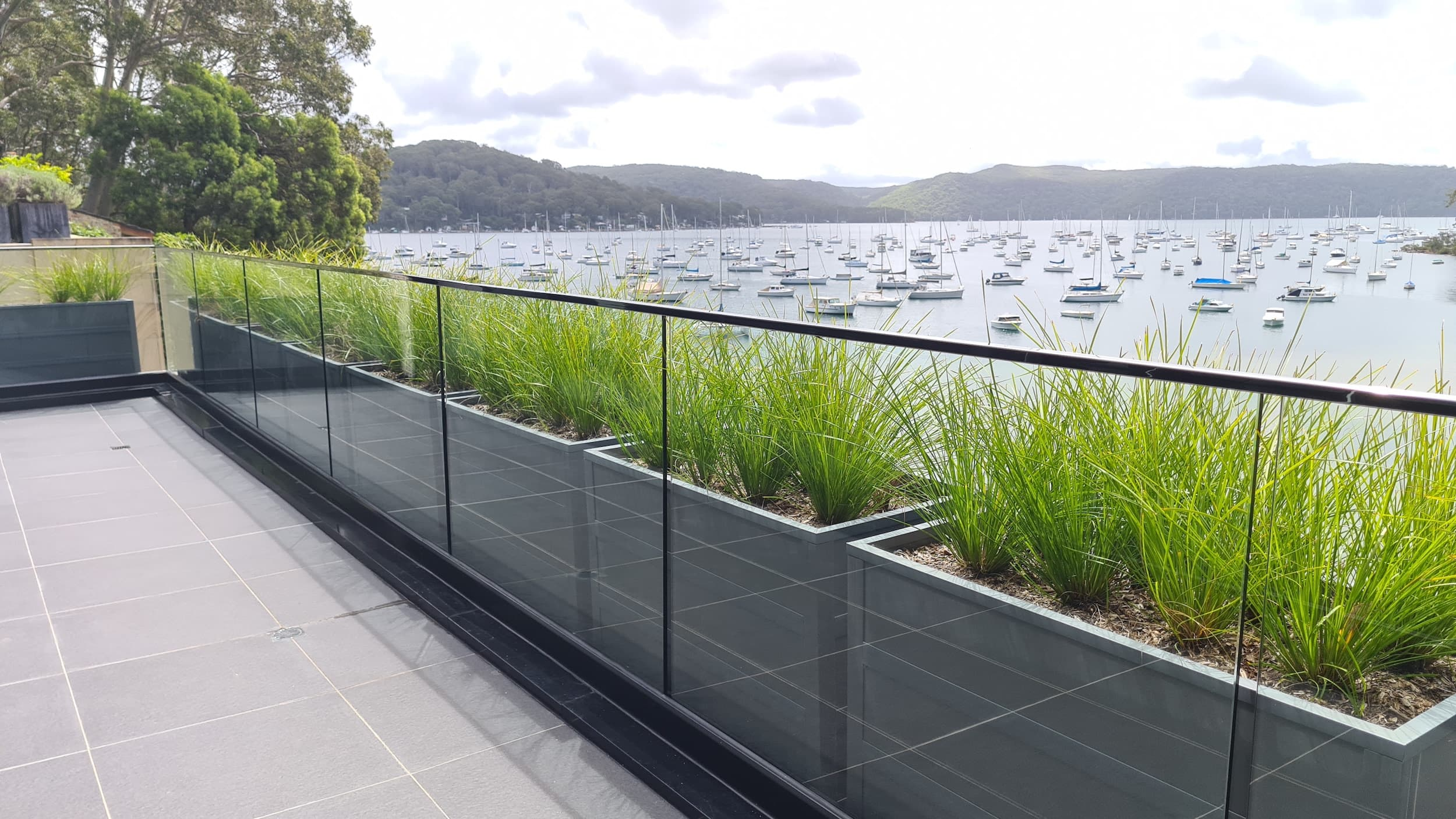 Glass Balcony Fencing - Glass Fencing Supplies Sydney
