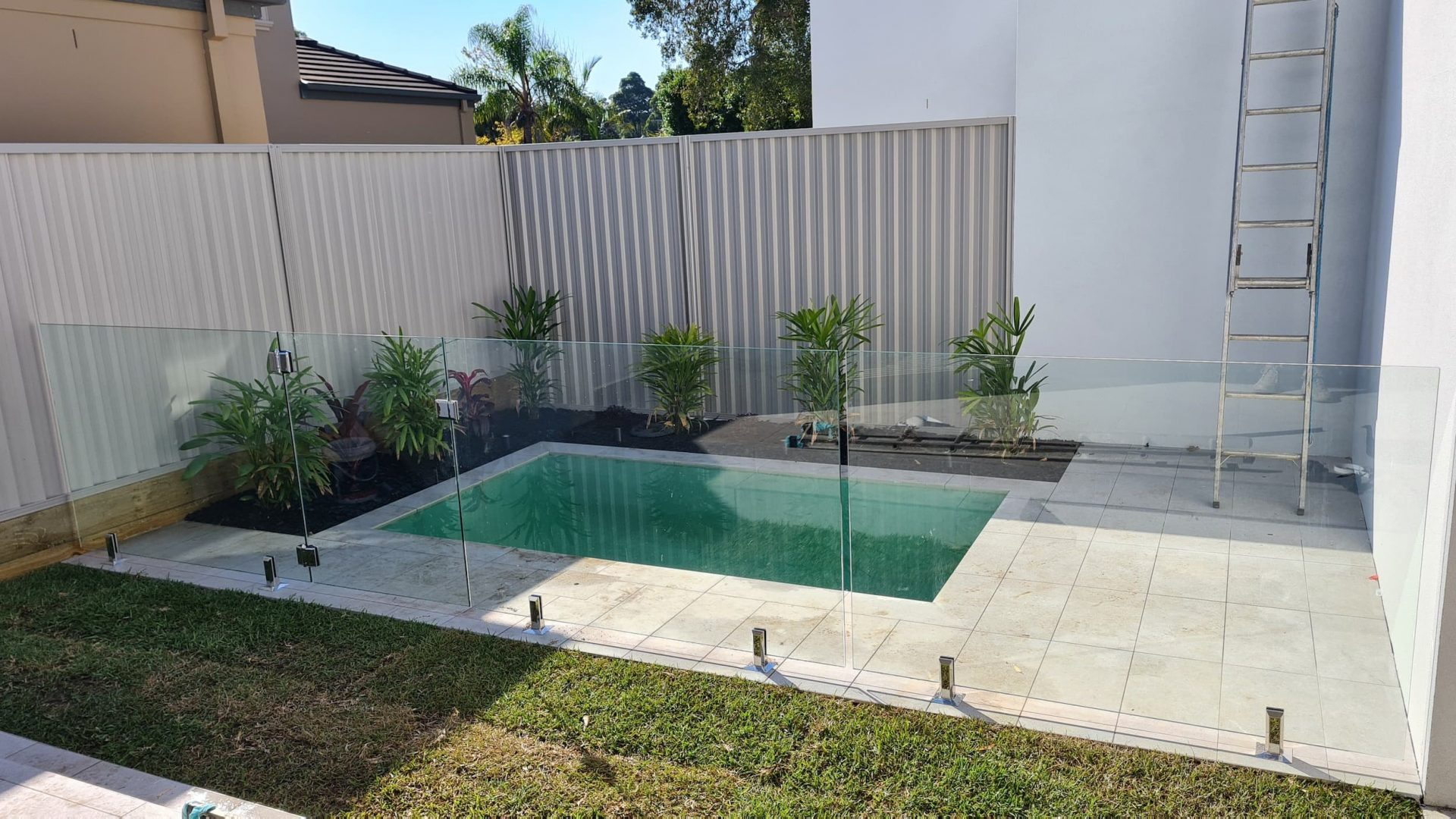 Frameless Glass Pool Fence Caringbah - Glass Fence Supplies