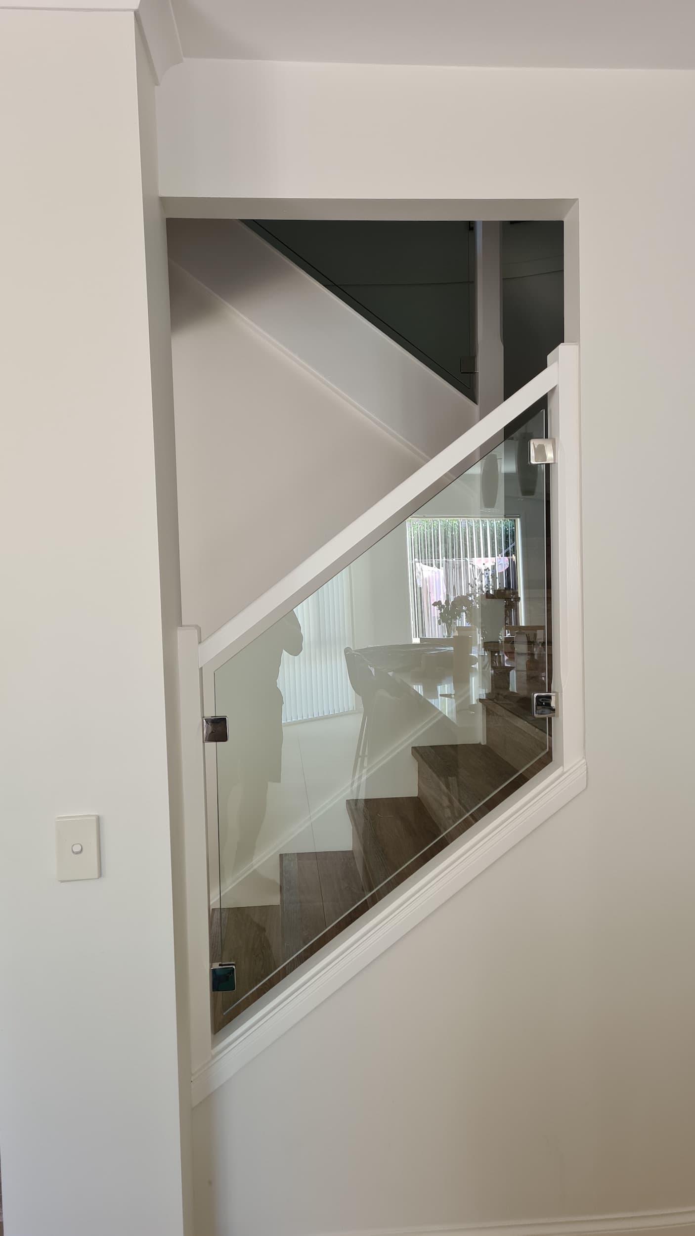 Glass Stair Infill, Prestons - Glass Fence Supplies Sydney